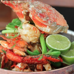 Boathouse seafood restaurant Sydney