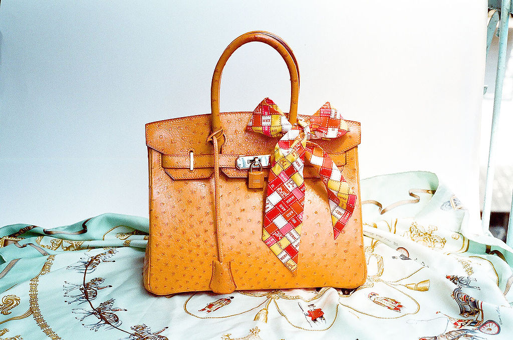 Hermes Ostrich Birkin Bag - Melbourne Escorts favourite handbag